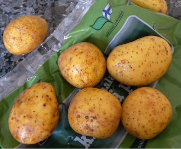 Suomalaisia perunoita.