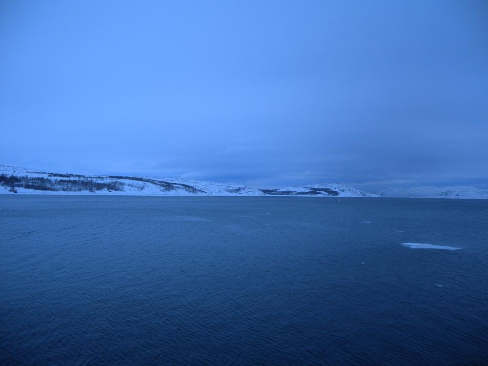 Jäämeri, Varanginvuono illalla.