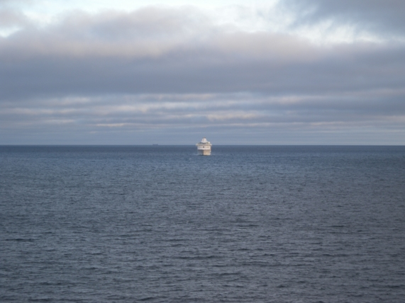 Laiva lähestyy
