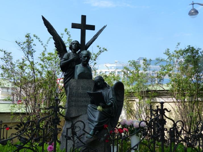 Pjotr Tshaikovskin patsas.