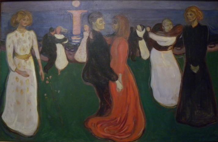Elämän tanssi on on yksi Edvard Munchin merkittävimmistä töistä.
