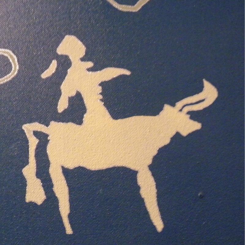 Shamaanitaidetta. Karsnojarskin museo.