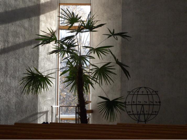 Ristimaapallo Kalevan kirkossa