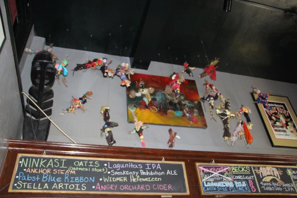 Woodoo.nuket pubissa