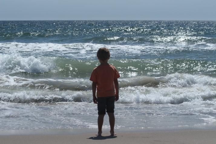Poika ja meri.
