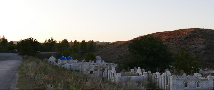 Islamilainen hautausmaa.