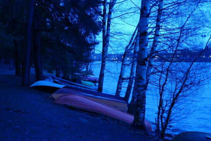 Veneet kaadettu talviunille 8.12.2014