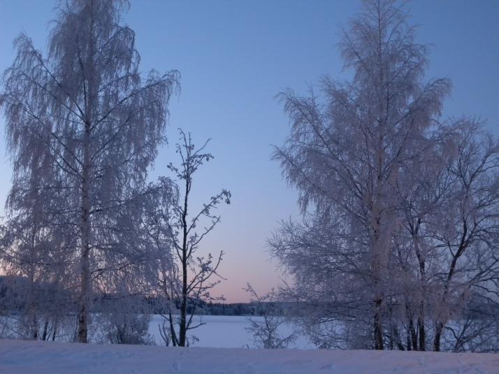 Talvi rannassa