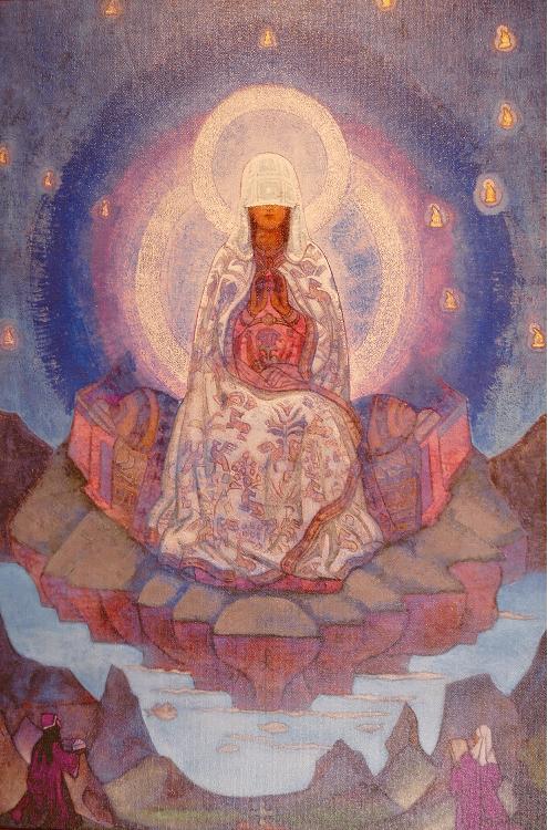 Nikolai Rörich. Maailman äiti. 1924.