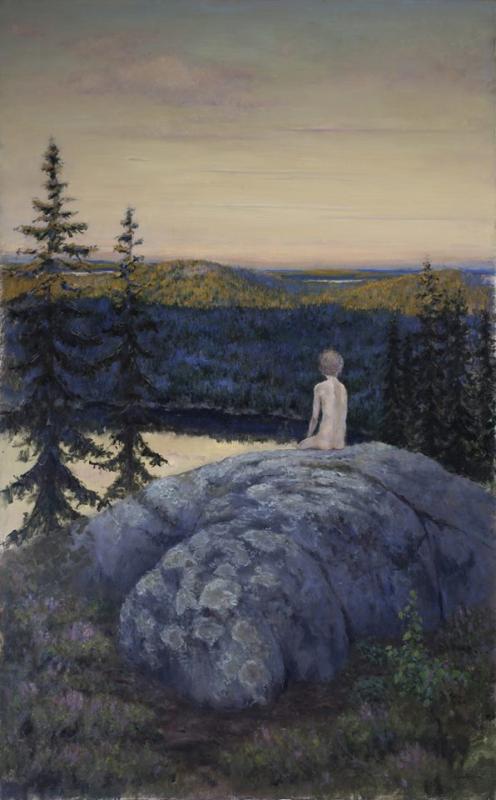Tommin maalaus vuodelta 2012