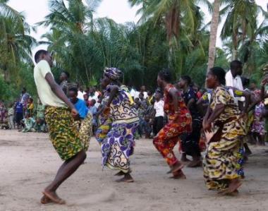 Afrikkalaista tanssia.
